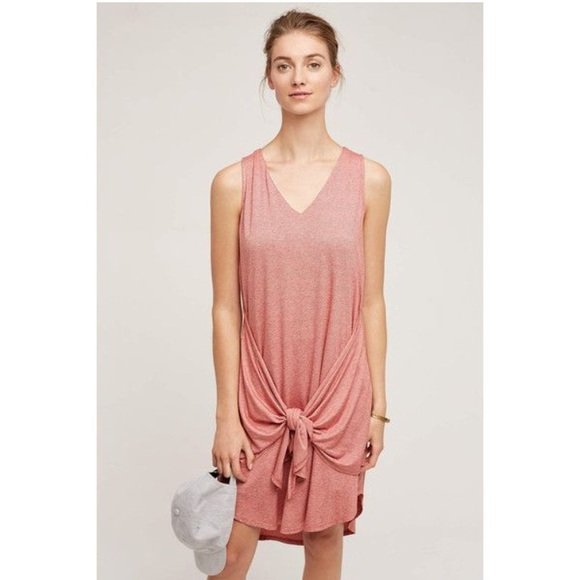 7162be0522707 Anthropologie Dresses | Dolan Left Coast Collection Front Tie Tank ...